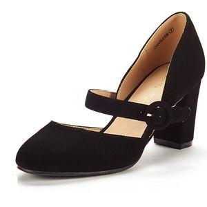 Classic Fashion Closed Toe Pump Heels